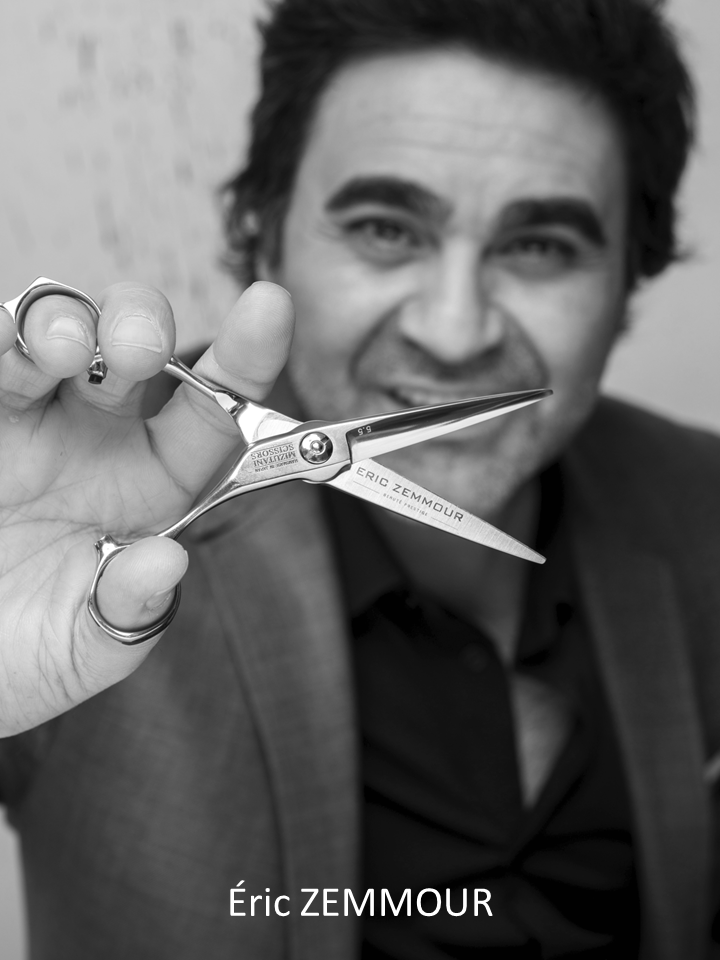 MIZUTANI SCISSORS FRANCE ERIC ZEMMOUR